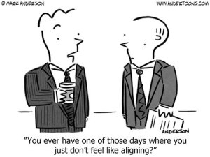 out-of-alignment-business-cartoon